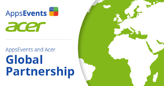 AppsEvents and Acer Global Partnership