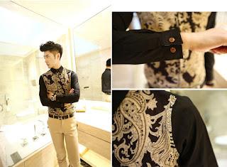 Kemeja Pria Model Batik Korea Terbaru