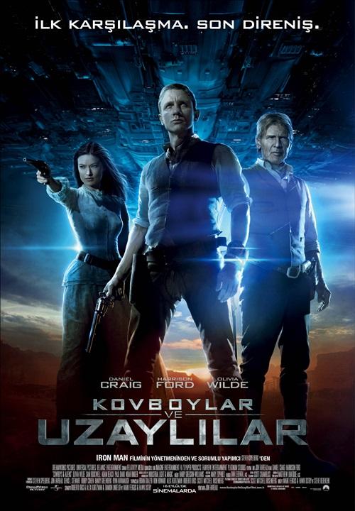 Kovboylar ve Uzaylılar (2011) 1080p Film indir