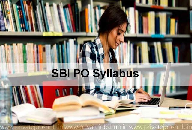 SBI Prelims & Mains Syllabus