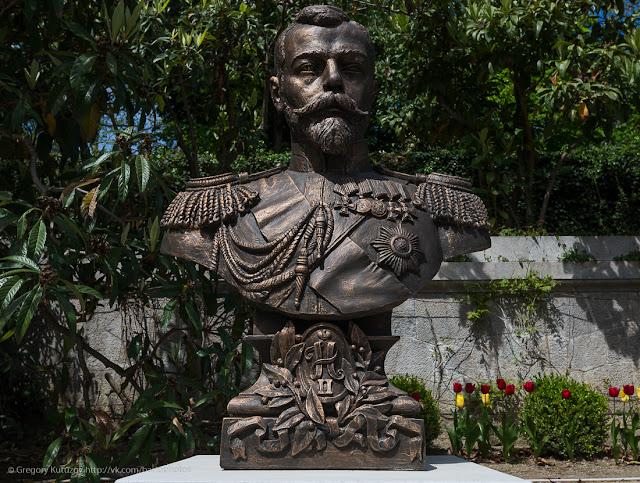 Бюст Николая II