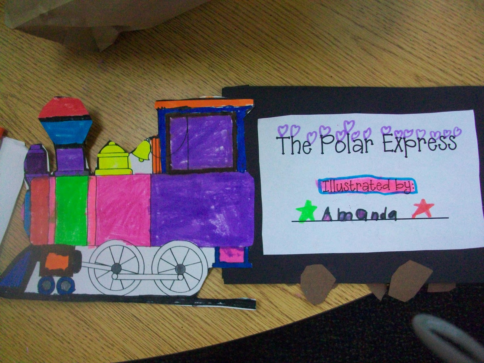 Sarah S First Grade Snippets Polar Express Gingerbread