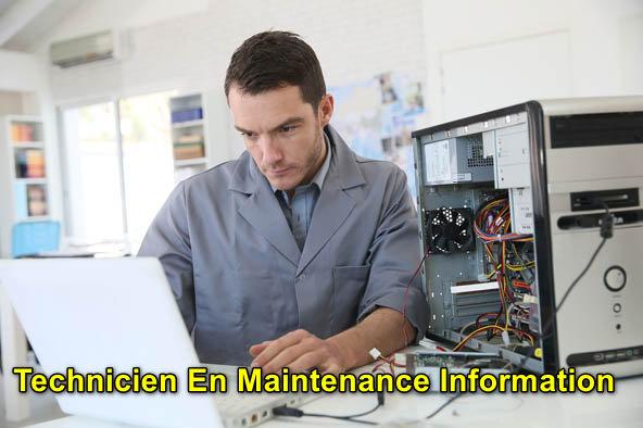 Technicien En Maintenance Information