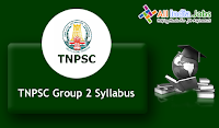 TNPSC Group 2 Syllabus