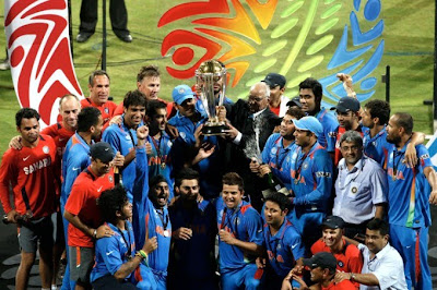 India Wins the 2011 ICC Cricket World Cup