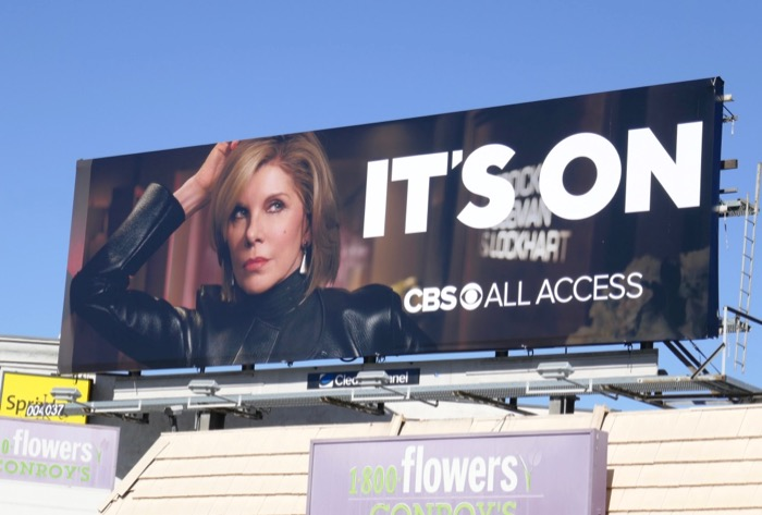 Good Fight Its on CBS All Access billboard
