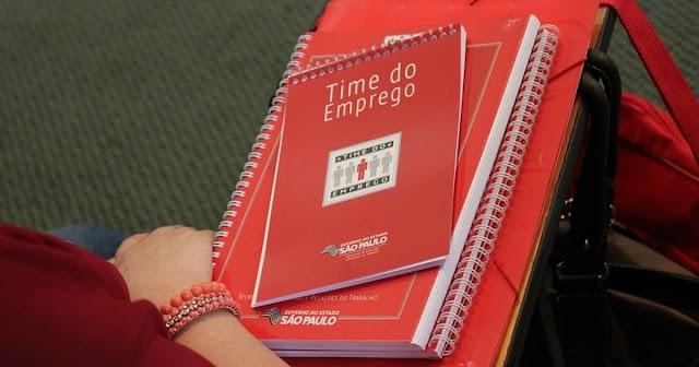 Programa 'Time do Emprego' está com inscrições abertas