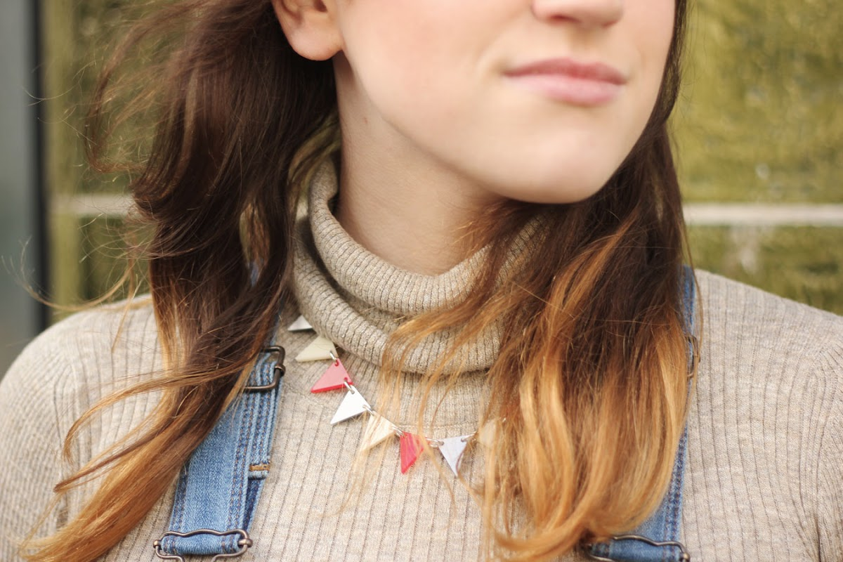 Tatty Devine bunting necklace | www.itscohen.co.uk