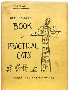 Old Possum's Book of Practical Cats, original cover illustrated by T. S. Eliot