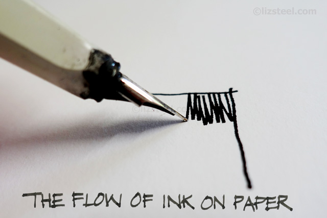 Fountain Pen Sketching Part 2: Why draw with a fountain pen