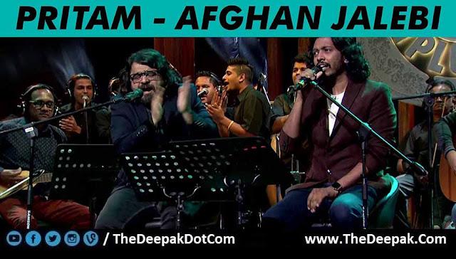 Afghan Jalebi - Pritam @ MTV Unplugged 5