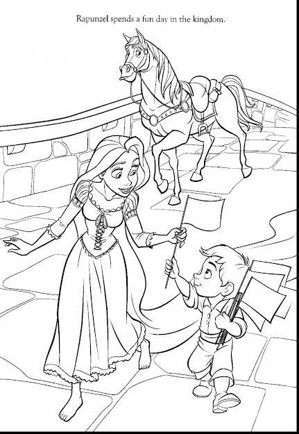 Incredible Disney Tangled Coloring Pages With Rapunzel Coloring Page And Rapunzel  Coloring Pages Printable