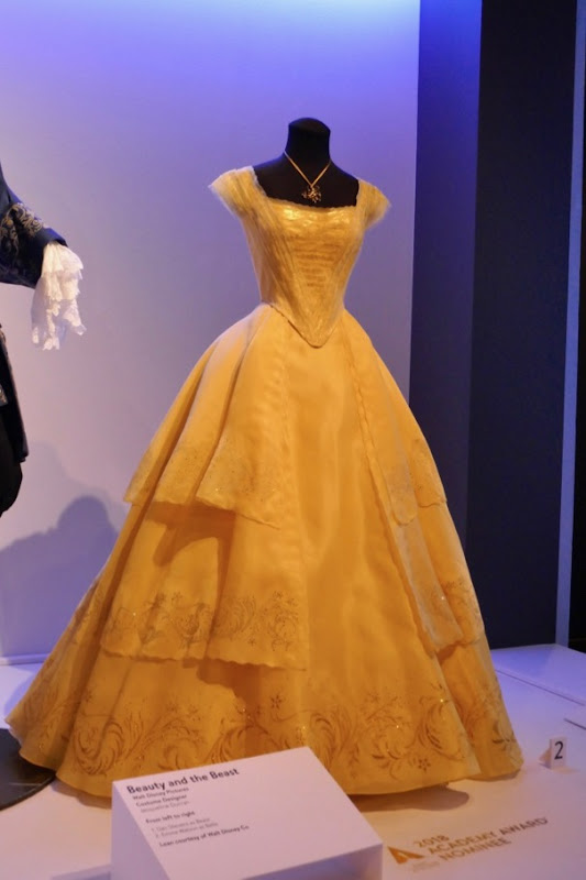 Emma Watson Beauty and Beast Belle gown