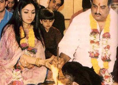 Sridevi Boney Marriage pic