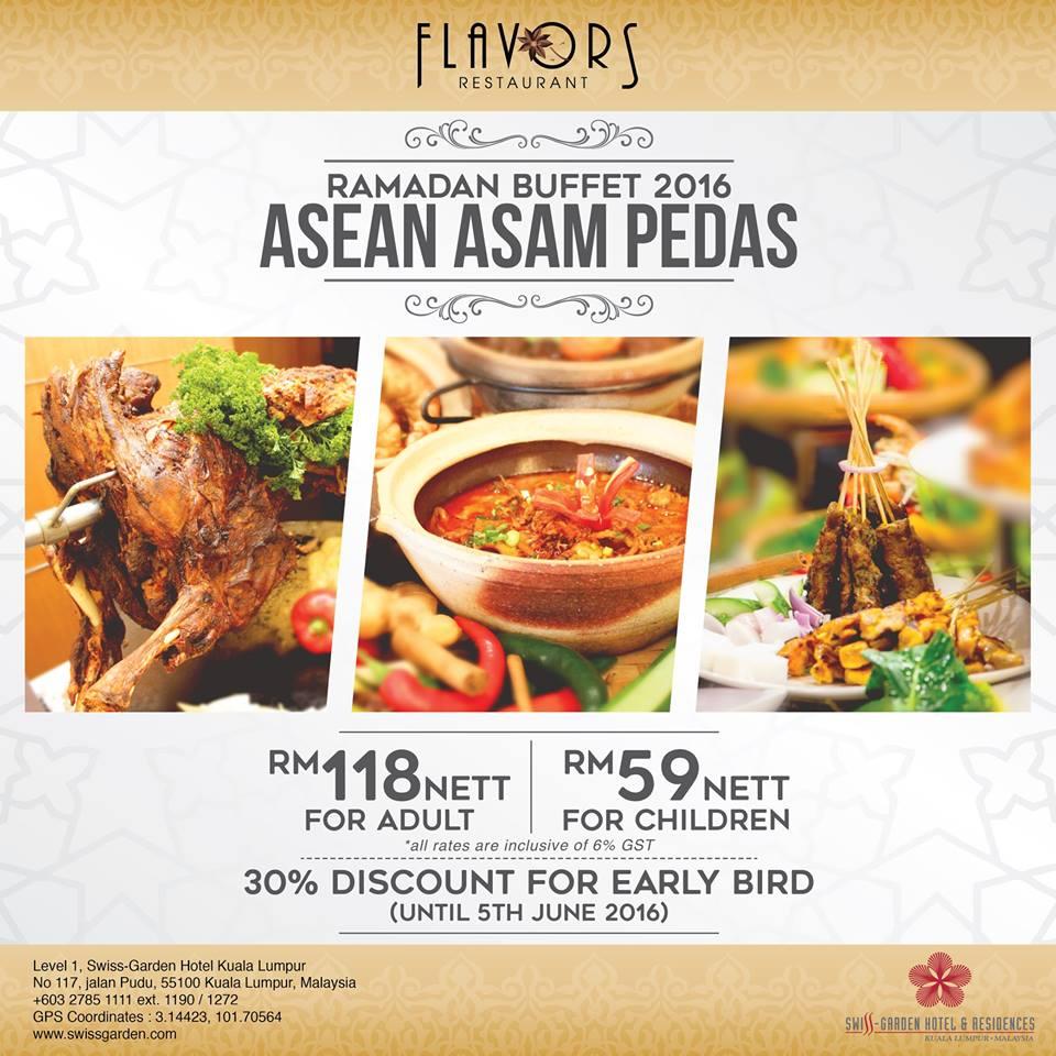 ramadhan buffet swiss garden hotel kl