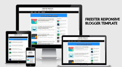 Freester Blogger template  responsive fast
