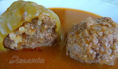 Ćufte i punjene paprike bez dodanih masnoća