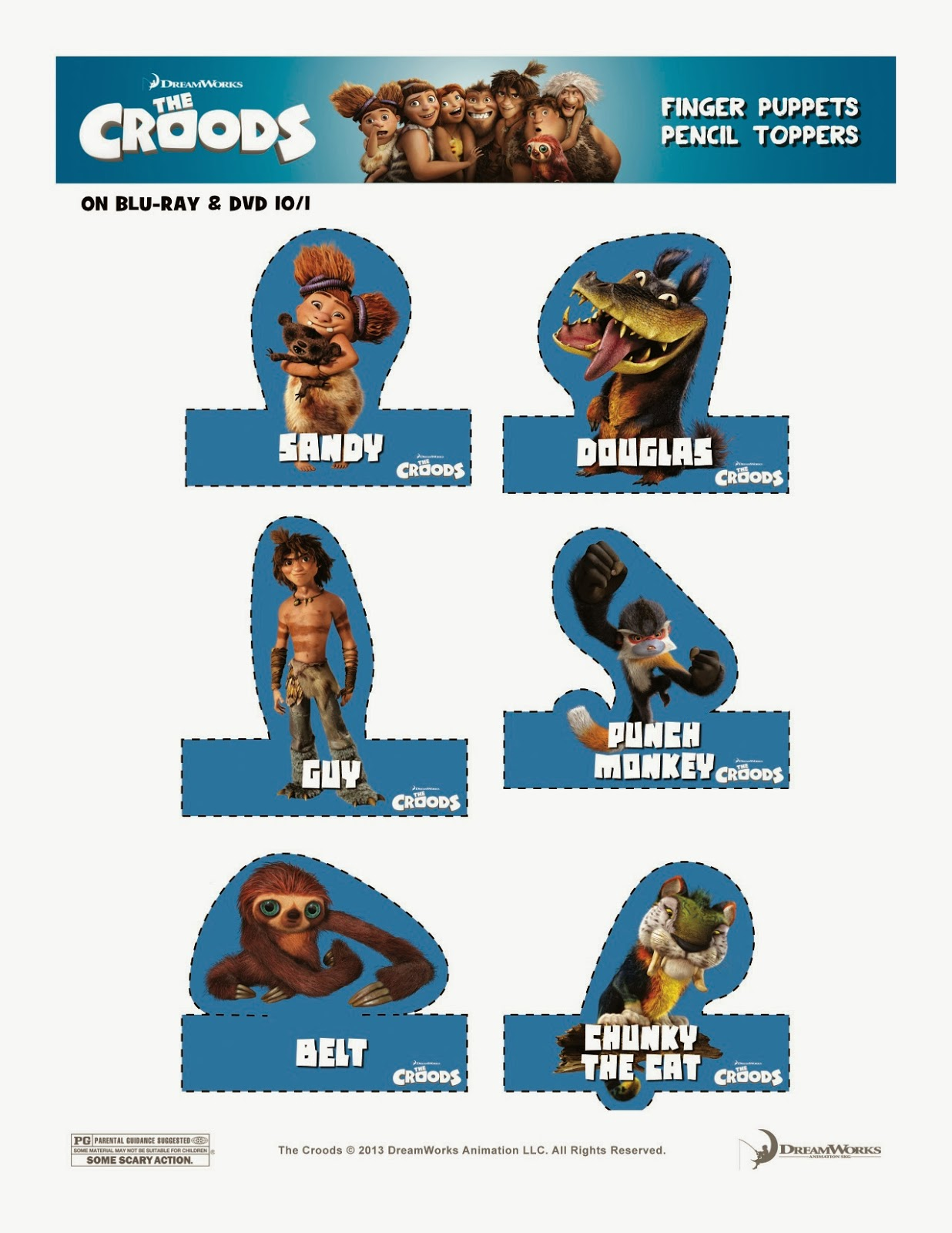 The Croods Free Printable Activities @fheinsiders #TheCroodsDVD ...