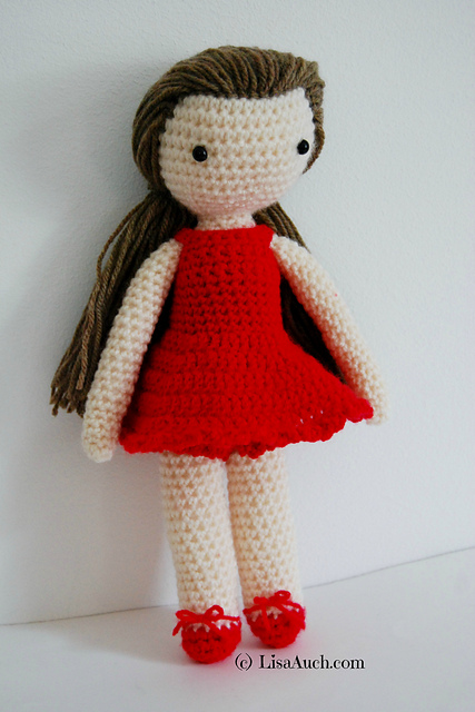 Free Crochet Patterns And Designs By Lisaauch 20 Free Crochet Doll