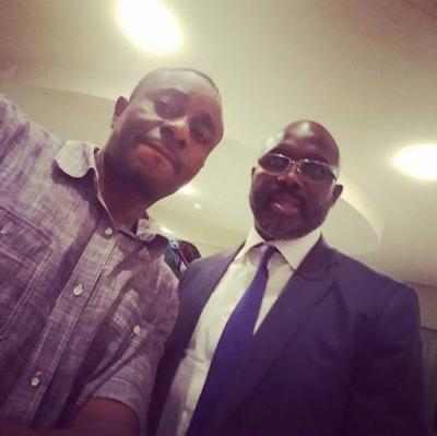 Emeka Ike Believes Football Legend, George Weah Will Be The Next Liberian President