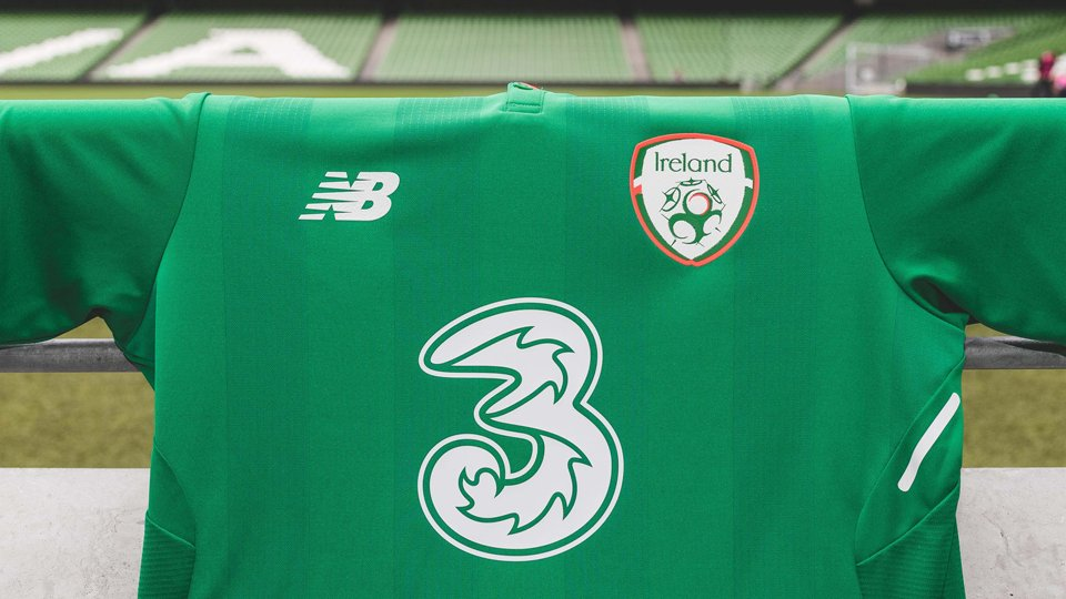 New Balance Ireland 2017-2018 Home Kit Released - Footy Headlines a3ba0a047