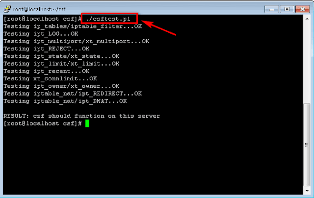 Cara Mudah Install  ConfigServer Security & Firewall (csf)