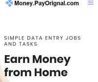 is payoriginal legit or scam, does pay original really works? Can I make money on payorginal website?,  How safe Is payoriginal, is payoriginal a waste of time?