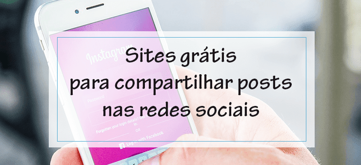 Como compartilhar posts do blogger nas redes sociais