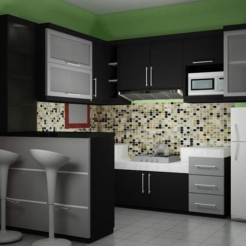 70 Models Of Minimalist Kitchen Set Pictures