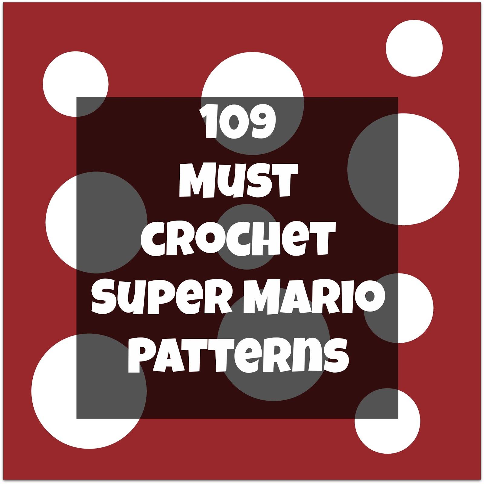 Amigurumi Super Mario and Luigi Crochet Patterns – FREE AMİGURUMİ ... | 1600x1600