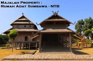 Desain Bentuk Rumah Adat NTB dan Penjelasannya, Rumah Adat Sumbawa