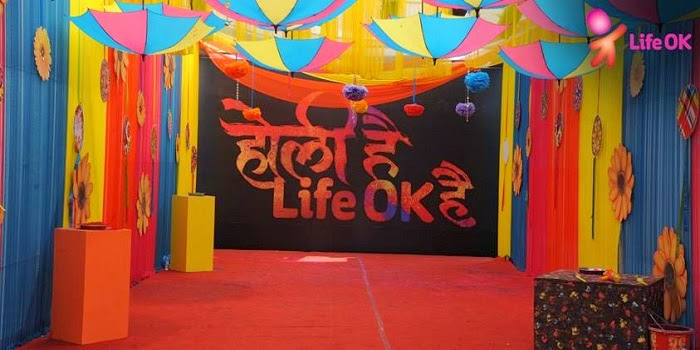 Holi Celebrations on  Life Ok
