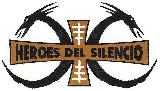Resultado de imagen de heroes del silencio logo