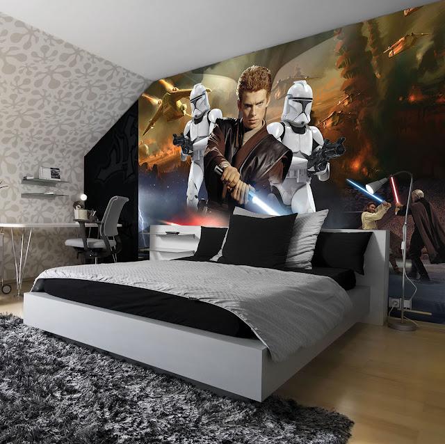 Star Wars Tapetti Valokuvatapetti Poikien Tapetti