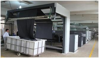 Stentering machine