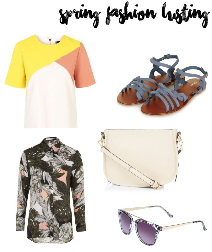 Spring Fashion in Topshop and New Look 2016