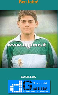 Soluzioni Guess the child footballer livello 14