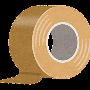 ガムテープのイラスト