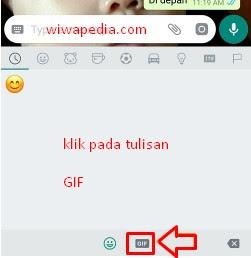 Cara Mudah Mengirim Gambar Gif Di Whatsapp | Wiwapedia