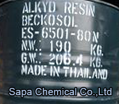 Alkyd Resin 6501 - 80, Long Oil