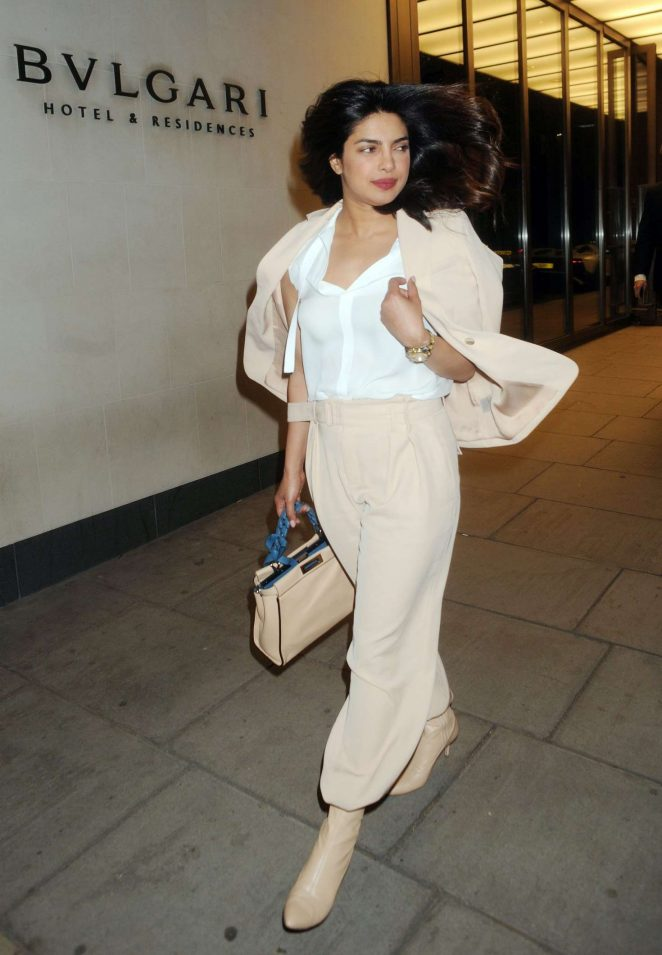 Priyanka Chopra goes chic out and about in London