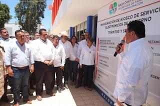 HOY INAUGURAMOS UN KIOSCO DE SERVICIOS ELECTRÓNICOS
