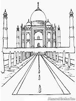 Gambar Masjid Timur Tengah Untuk Diwarnai