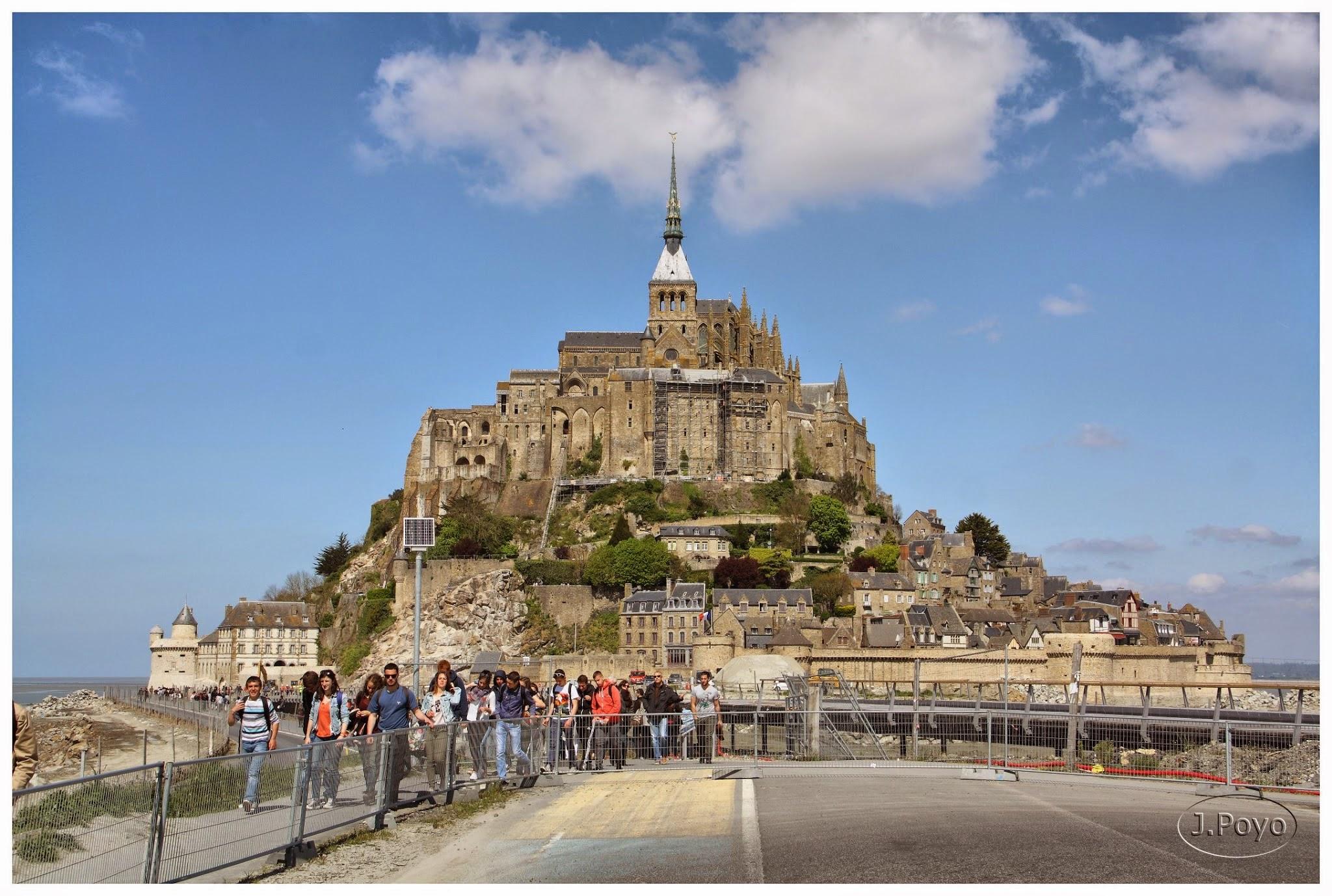 Le Mont Saint Michel, Normandía, Francia
