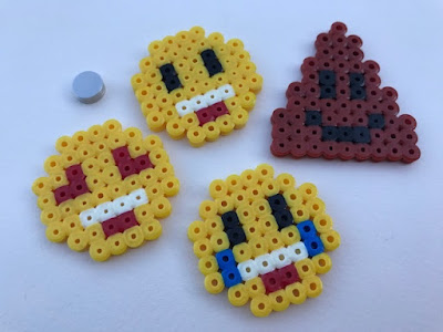 How to make Hama bead magnets