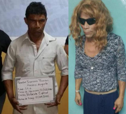 prisoner dressed woman escape jail Honduras