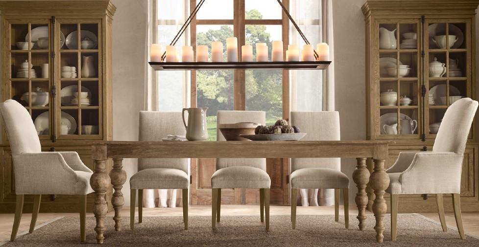 Dining Table: Restoration Hardware Camden Dining Table