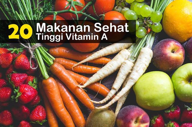 Makanan Sehat Yang Tinggi Vitamin A