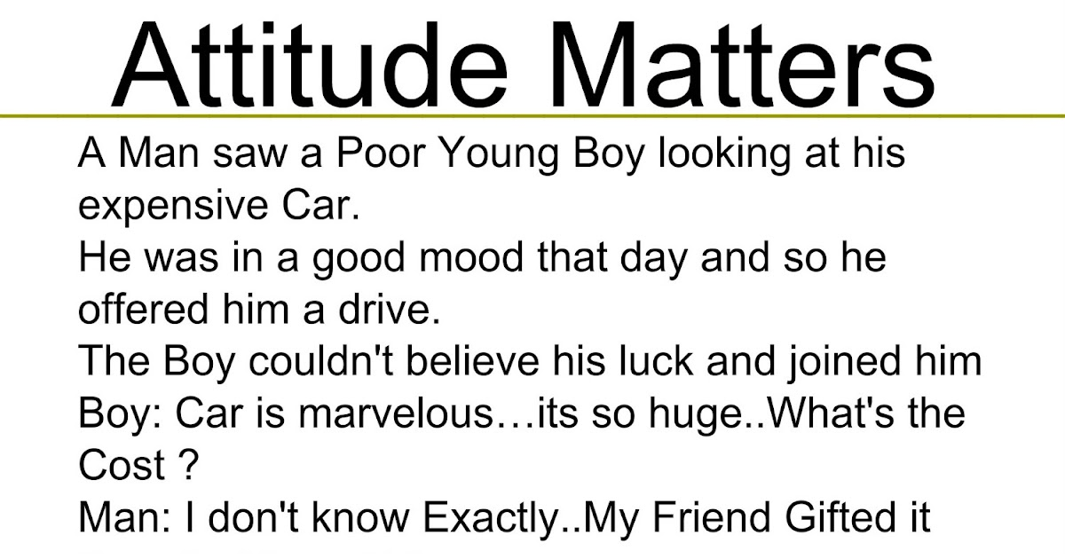 beautiful quotes attitude matters