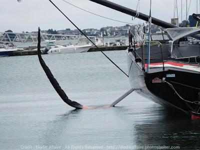 Charal de Jérémie Beyou est à Lorient